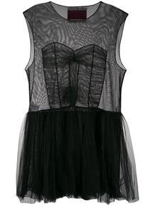 платье с пышной юбкой из тюля Viktor & Rolf 1415732788834783