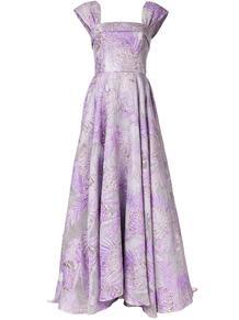 платье с квадратным вырезом и цветочным принтом Bambah 150314714950