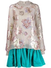 расклешенное платье Tomarian с пайетками TALBOT RUNHOF 140249615152