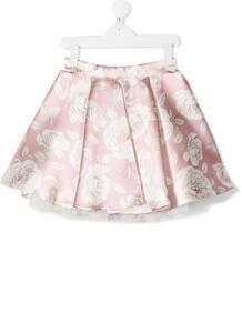 юбка с цветочным принтом Monnalisa 155221294948