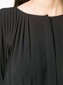 платье с плиссировкой и разрезом HENRIK VIBSKOV 1490683583