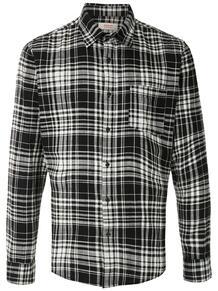 клетчатая рубашка с карманом OSKLEN 1488801480