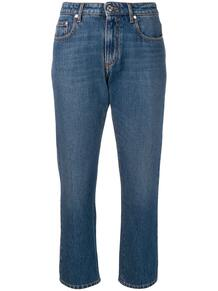 укороченные прямые джинсы MSGM 134892735248