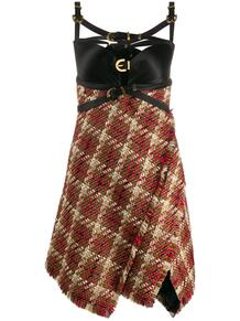 платье в клетку Versace Jeans Couture 145374735248