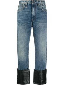 джинсы с широкими манжетами R13 160522485056
