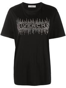 футболка со стразами Givenchy 162171358883