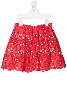 юбка с цветочной вышивкой Monnalisa 1631959654