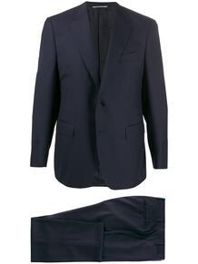 костюм с однобортным пиджаком Canali 144577125352