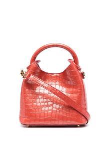 мини-сумка с тиснением под кожу крокодила ELLEME 16418335636363633263