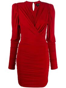 платье миди с длинными рукавами и сборками Isabel Marant 156864425250