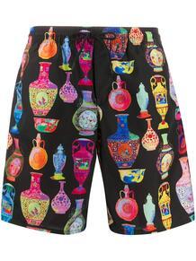 плавки-шорты с принтом Versace 1499811653