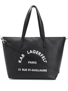 сумка-тоут с логотипом Lagerfeld 15119061636363633263