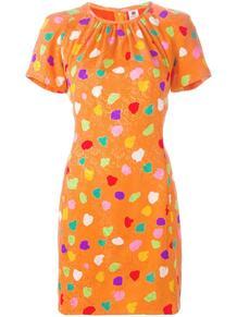 жаккардовое платье в горошек Emanuel Ungaro Pre-Owned 110595855152