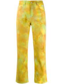 брюки с принтом тай-дай MSGM 143961825156