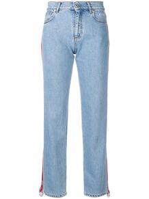 джинсы с лампасами MSGM 135523695250
