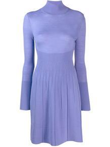 трикотажное платье-водолазка Versace Pre-Owned 142313285156