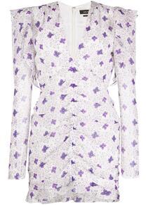 платье мини с цветочным принтом и сборками Isabel Marant 150909785248