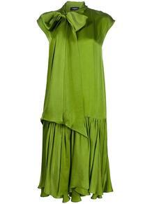 платье прямого кроя с бантом Rochas 151795735248