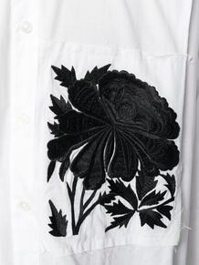 oversize embroidered pocket shirt Ann Demeulemeester 127395105350