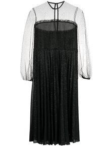 платье с прозрачными вставками MARCO DE VINCENZO 151333235248