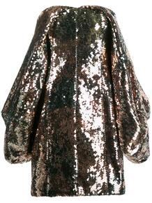 платье мини с пайетками Halpern 144896045156