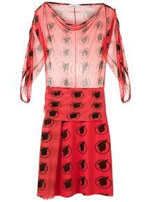 платье из тюля с принтом Amir Slama 1507152477