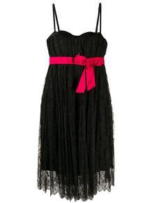 кружевное платье с бантом Dolce & Gabbana Pre-Owned 158069435156