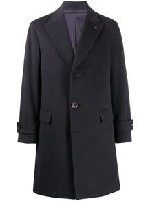 кашемировое однобортное пальто миди GABRIELE PASINI 158390415348