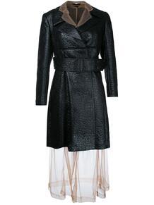 пальто с прозрачным слоем Comme Des Garçons Pre-Owned 1208433083