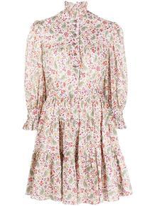 платье-рубашка с цветочным принтом Etro 162283995156