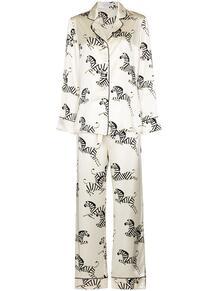 пижама с принтом Olivia Von Halle 1626668583