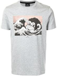 футболка Sea Monkey из органического хлопка PS Paul Smith 1629640783