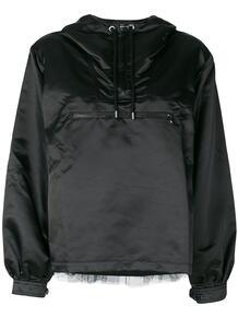 куртка с вставкой из тюля Love Moschino 122375335250