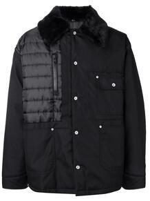 пальто с меховым воротником MAISON MARGIELA 132042955256