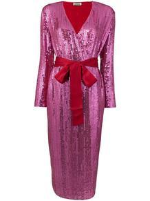 платье с пайетками THE ATTICO 139349495248