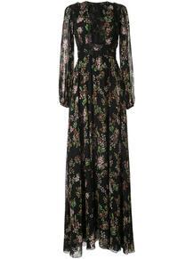 платье макси с цветочным принтом GIAMBATTISTA VALLI 141265625250