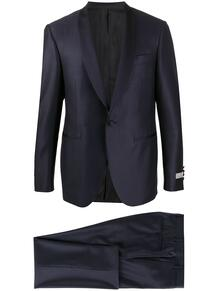 костюм-двойка с лацканами-шалькой Canali 152025585352