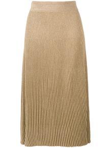 трикотажная юбка А-силуэта в рубчик Marni 139096855252