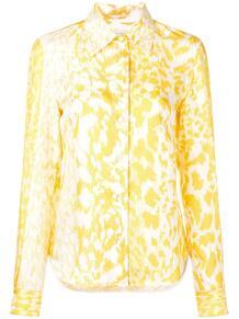 рубашка с леопардовым принтом Victoria Beckham 136959154954