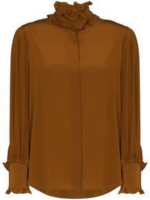 блузка с оборками Victoria Beckham 1558441056