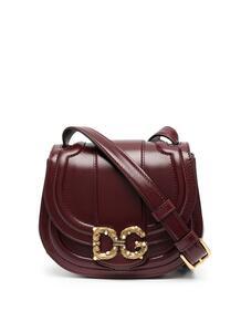 полукруглая сумка с металлическим логотипом DG Dolce&Gabbana 15909039636363633263
