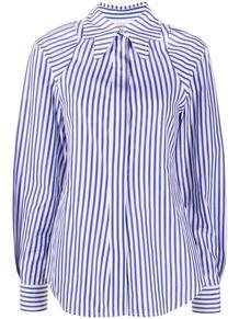 полосатая рубашка с воротником Victoria Beckham 159582454952