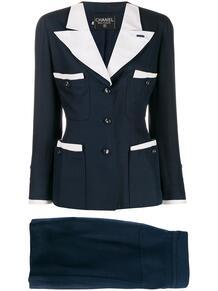 костюм-двойка 90-х годов Chanel Pre-Owned 145716375250