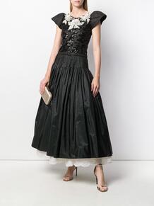 вечернее платье с вышивкой Valentino Pre-Owned 139991945250