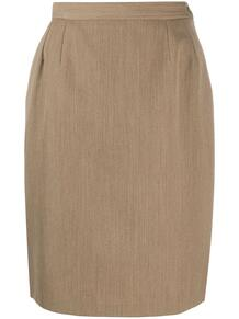 юбка-карандаш с пуговицами Yves Saint Laurent Pre-Owned 149630245248