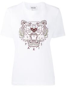 футболка с вышивкой Tiger Kenzo 1601154777