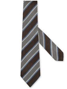 галстук в полоску Ermenegildo Zegna 16130533636363633263