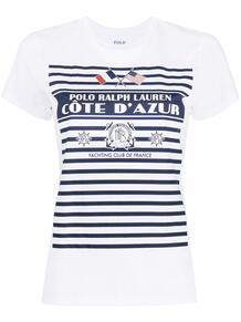 футболка с логотипом Polo Ralph Lauren 1631162177