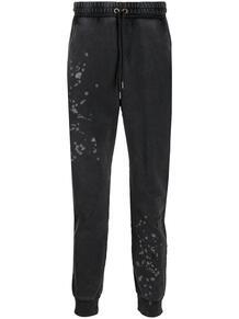 спортивные брюки с эффектом разбрызганной краски John Richmond 156687168876