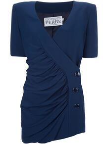 костюм с пиджаком и юбкой Gianfranco Ferré Pre-Owned 103157435252